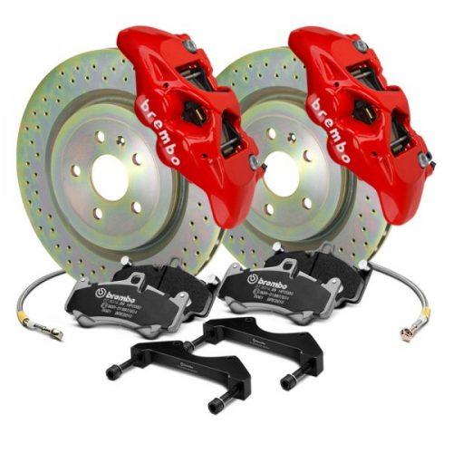 gt-series-cross-drilled-1-piece-iron-rotor-4-piston-red-bm-4-caliper-brake-kit_1